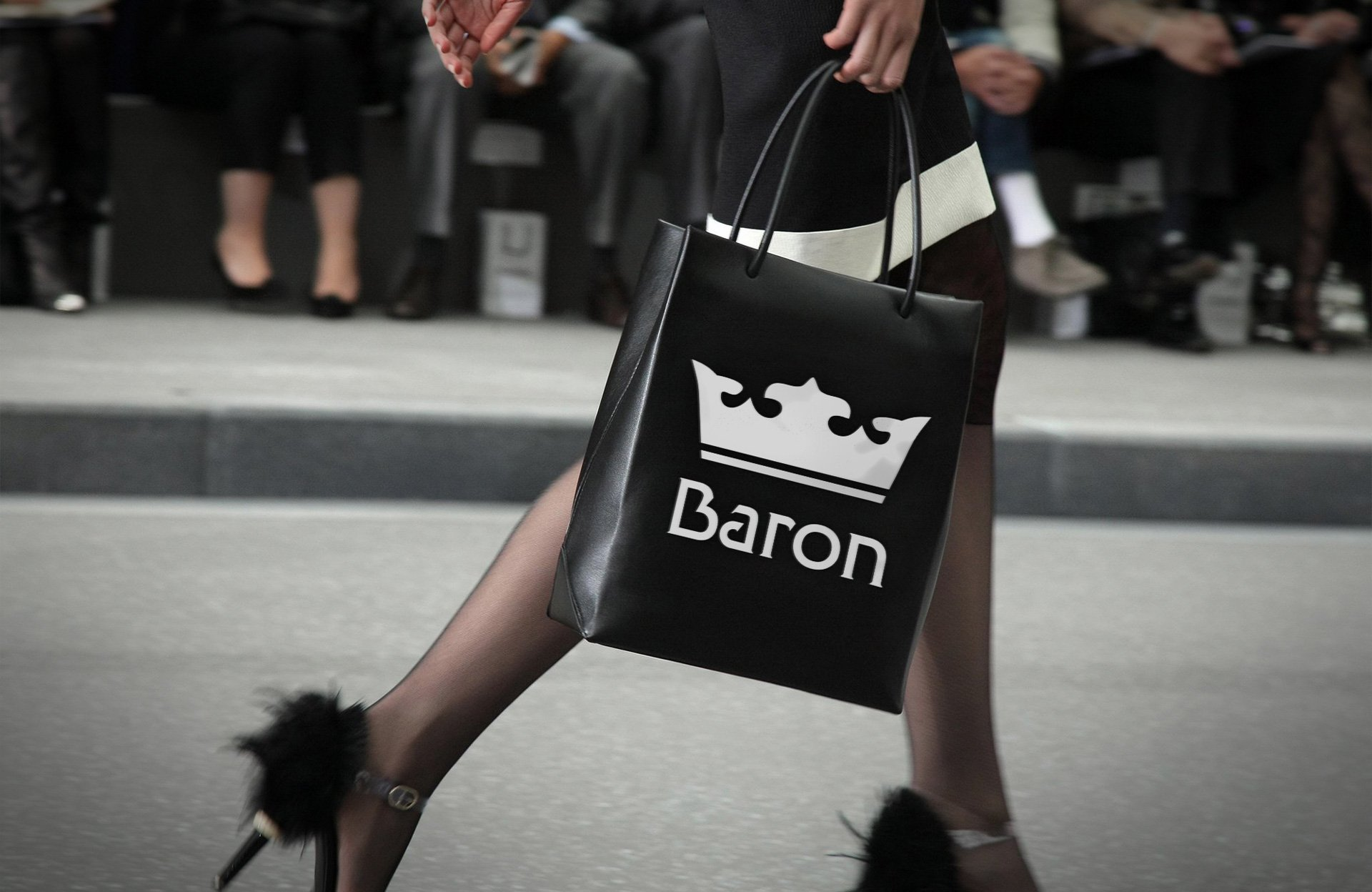 Wizualizacja torby reklamowej firmy Baron (by BBIG.PL)