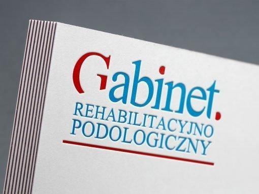 Gabinet Rehabilitacyjno-Podologiczny – logotyp marki