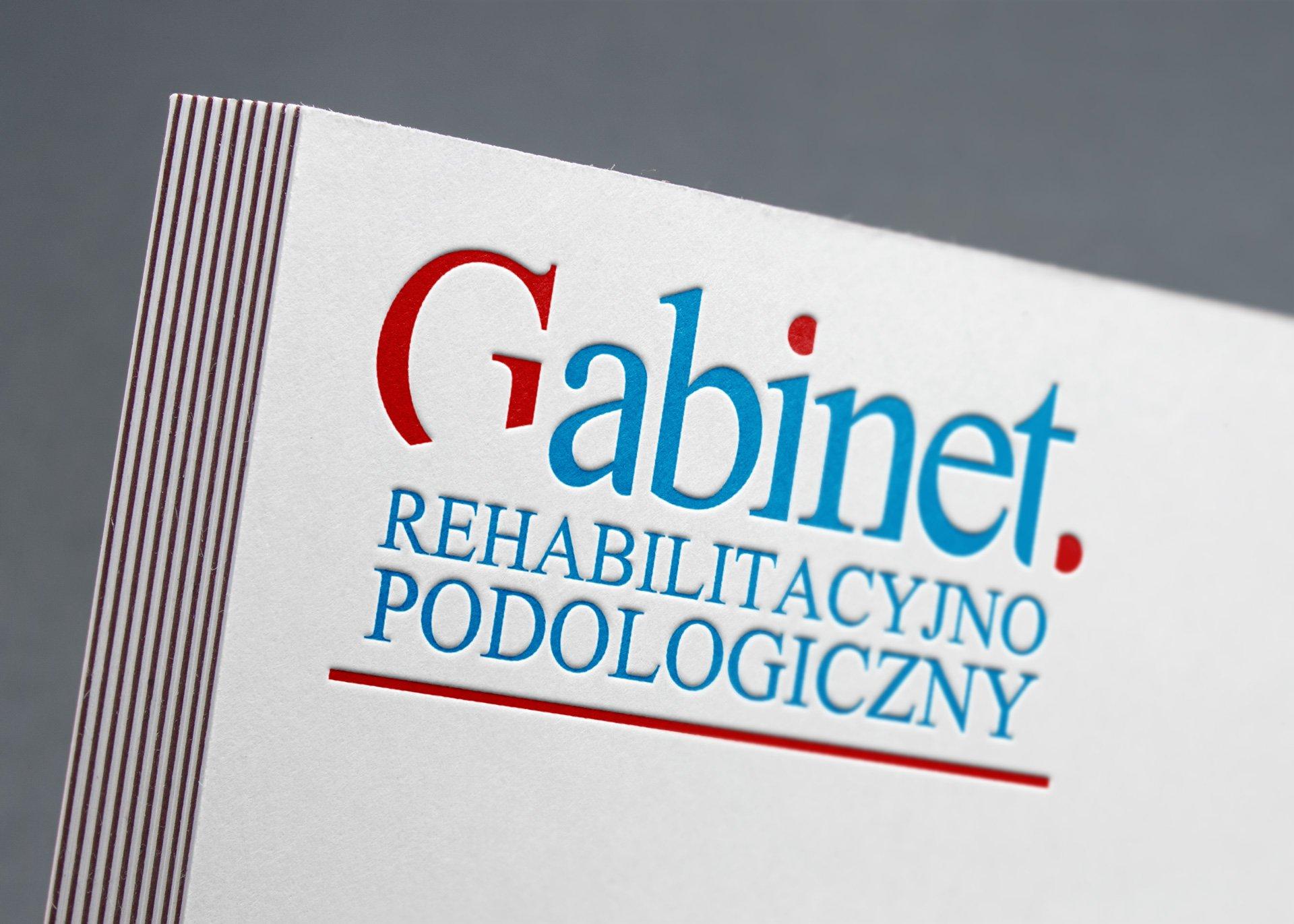 Logotyp Gabinetu Rehabilitacyjno-Podologicznego (by BBIG.PL)