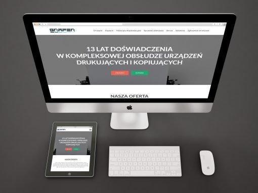 Strona internetowa firmy GRAFER