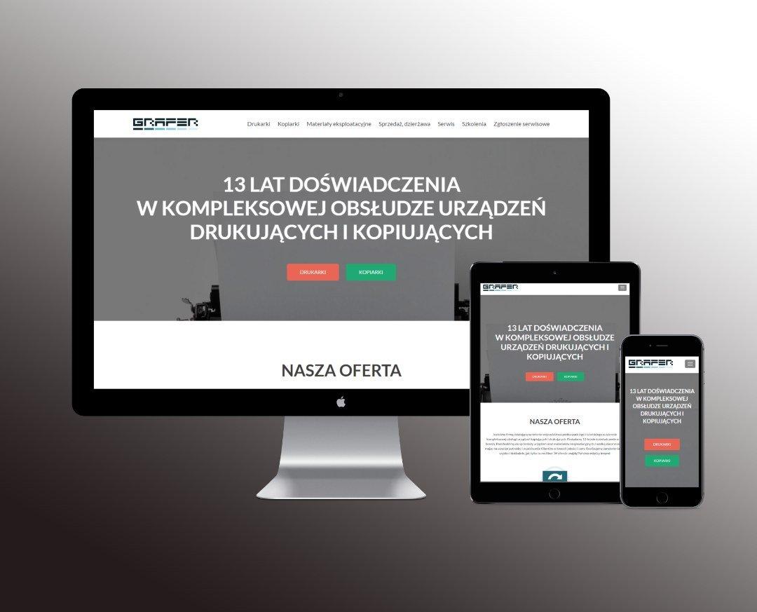 Responsywna strona internetowa firmy GRAFER (by BBIG.PL)