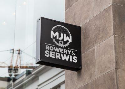 Logo sklepu MJW Rowery&Serwis