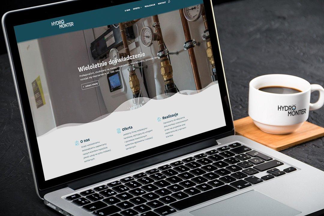 Responsywna strona internetowa firmy HYDROMONTER (by BBIG.PL)
